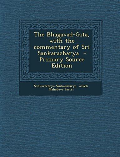 9781294825302: The Bhagavad-Gita, with the commentary of Sri Sankaracharya