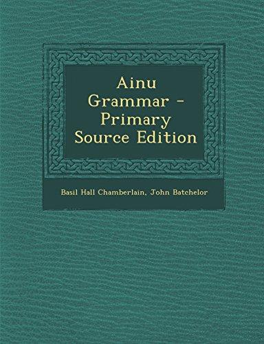 9781294829171: Ainu Grammar