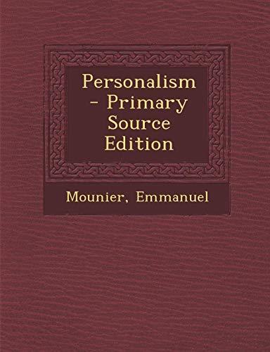 9781294833352: Personalism
