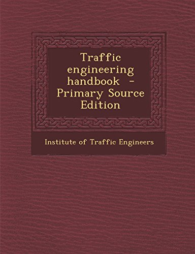 9781294833529: Traffic engineering handbook
