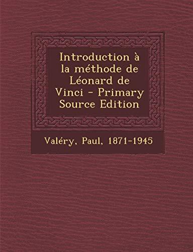 9781294840381: Introduction a la Methode de Leonard de Vinci