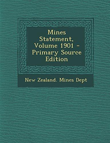 9781294841906: Mines Statement, Volume 1901