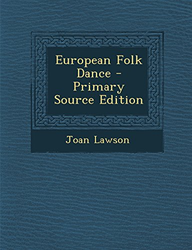 9781294843764: European Folk Dance
