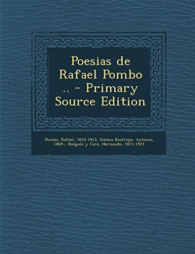 9781294844853: Poesias de Rafael Pombo