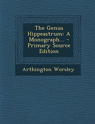 9781294869351: The Genus Hippeastrum: A Monograph...