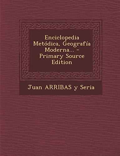 9781294872016: Enciclopedia Metódica, Geografía Moderna...