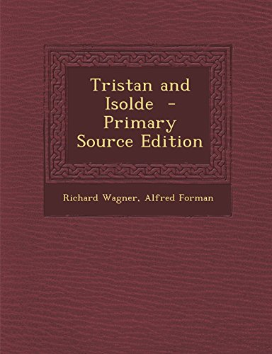 9781294934431: Tristan and Isolde