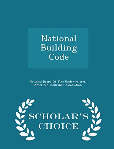 9781294937333: National Building Code - Scholar's Choice Edition