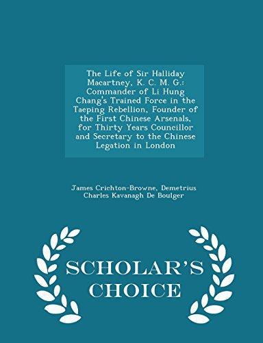 The Life of Sir Halliday Macartney, K.: James Crichton-Browne, Demetrius