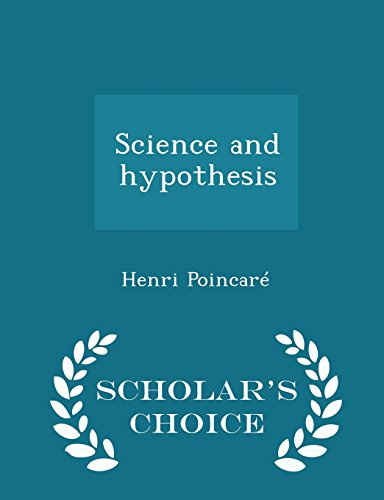 9781294996385: Science and hypothesis - Scholar's Choice Edition