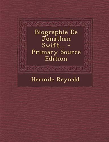 9781295073184: Biographie De Jonathan Swift... (French Edition)
