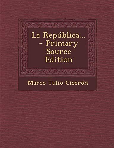 9781295121649: La República... (Spanish Edition)