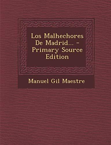 9781295122615: Los Malhechores de Madrid...
