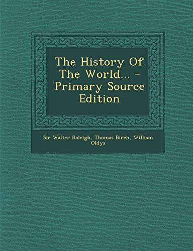 9781295195237: The History Of The World...
