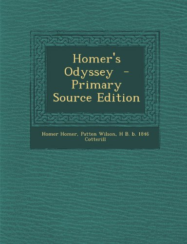 9781295232659: Homer's Odyssey - Primary Source Edition