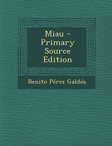 9781295302055: Miau (Spanish Edition)