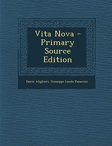 9781295337996: Vita Nova (Italian Edition)