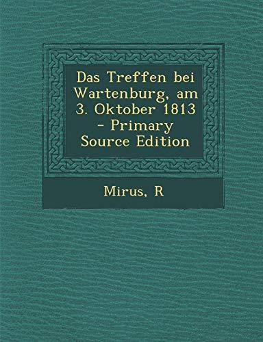 9781295353316: Das Treffen bei Wartenburg, am 3. Oktober 1813