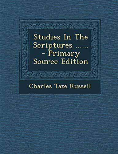 9781295370498: Studies In The Scriptures ......