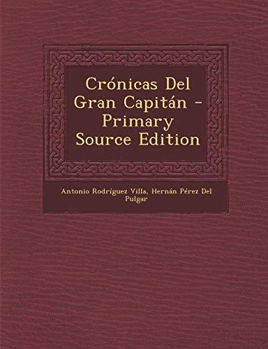 9781295395033: Crónicas Del Gran Capitán