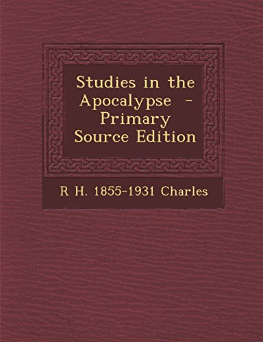 9781295406487: Studies in the Apocalypse