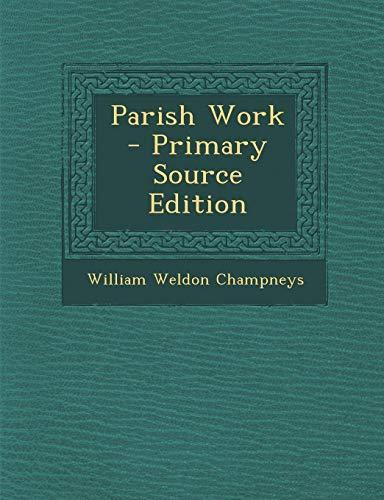9781295421497: Parish Work