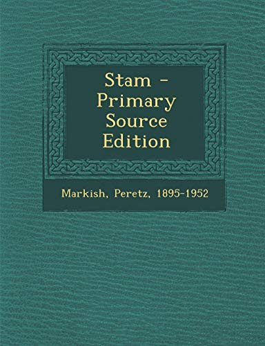 9781295469734: Stam - Primary Source Edition