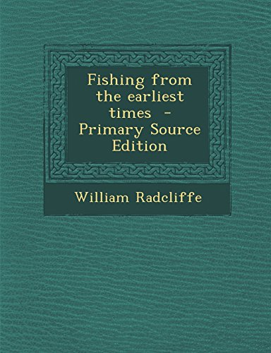 9781295494613: Fishing from the earliest times