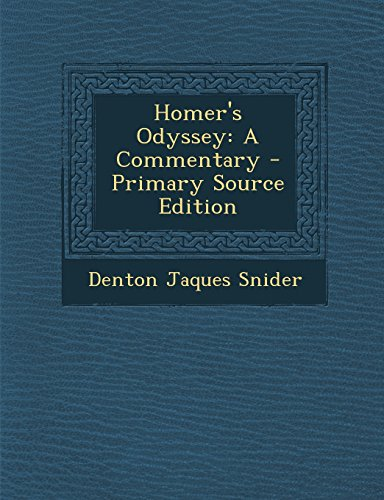 9781295509836: Homer's Odyssey: A Commentary