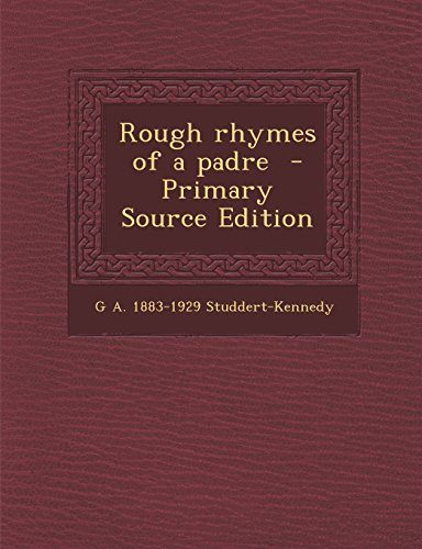 9781295517466: Rough rhymes of a padre