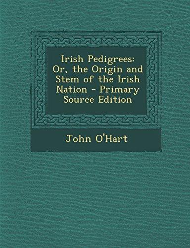 9781295520992: Irish Pedigrees: Or, the Origin and Stem of the Irish Nation