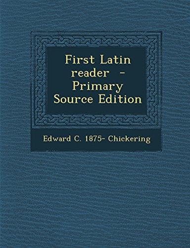 9781295626557: First Latin Reader