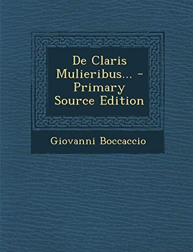 9781295677887: De Claris Mulieribus... (Latin Edition)