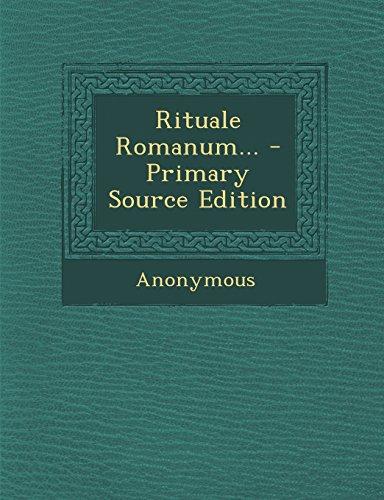 9781295679263: Rituale Romanum...