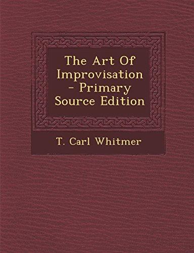 9781295703142: The Art Of Improvisation