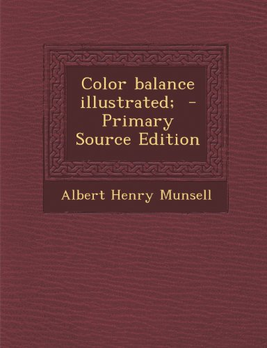 9781295709250: Color balance illustrated; - Primary Source Edition