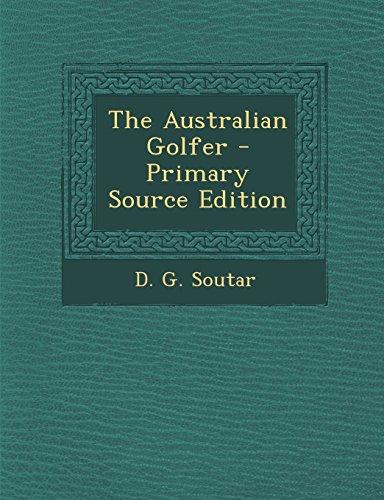 9781295726783: The Australian Golfer