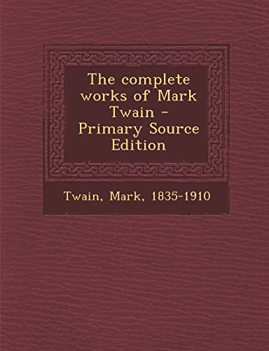 9781295760169: The Works of Mark Twain: Pudd'nhead Wilson