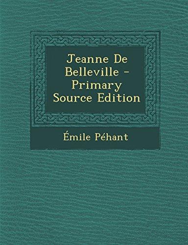 9781295763962: Jeanne de Belleville