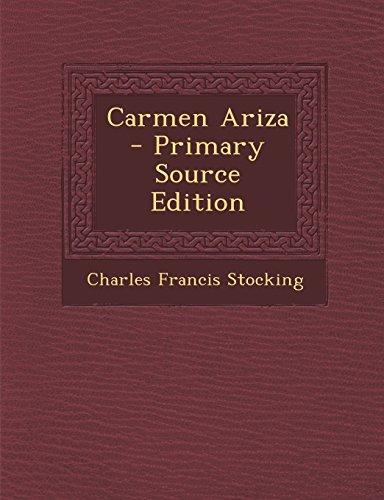 9781295767960: Carmen Ariza - Primary Source Edition