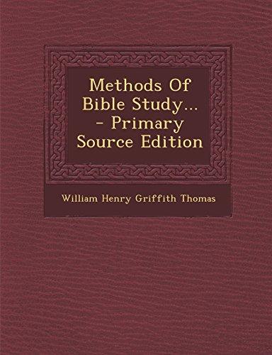 9781295775118: Methods Of Bible Study...