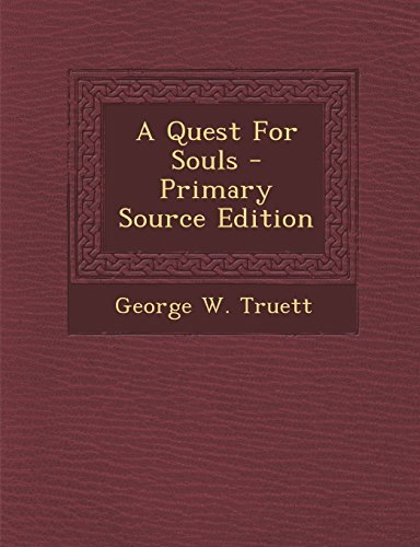 9781295775934: A Quest For Souls