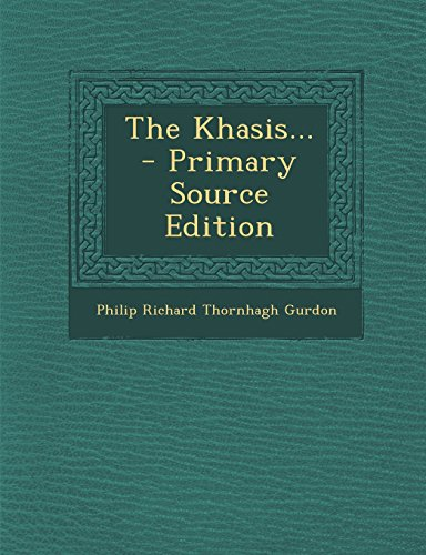 9781295778362: The Khasis... - Primary Source Edition