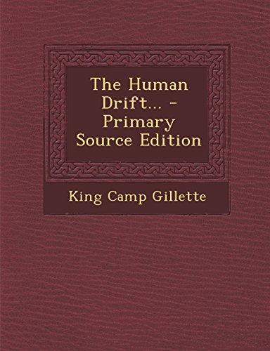 9781295790364: The Human Drift...