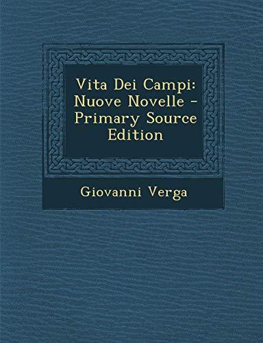9781295790579: Vita Dei Campi: Nuove Novelle (Italian Edition)