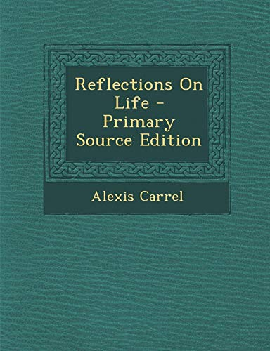 9781295801558: Reflections On Life