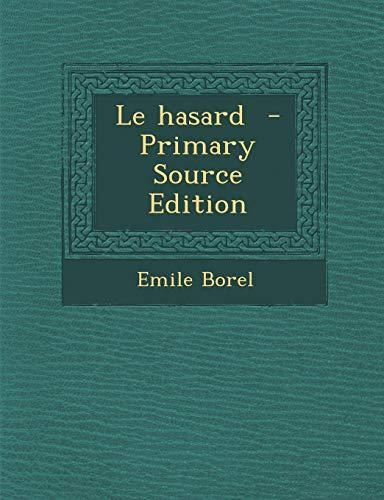 9781295808137: Le Hasard