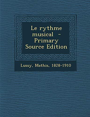 9781295809776: Le Rythme Musical
