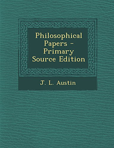9781295821907: Philosophical Papers