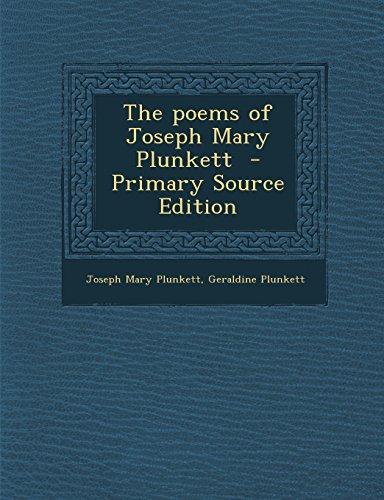 9781295826537: The poems of Joseph Mary Plunkett